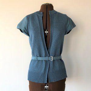 Lida Baday Short Sleeve Jacket/Cardigan  Size 4